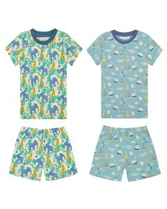 Kafka_Short Pyjama_Jungle+Sealife