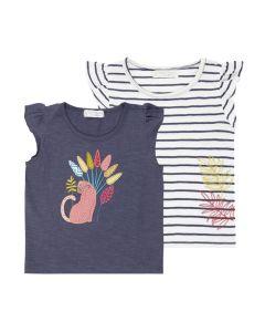 NANA Mädchen T-Shirts Flügelärmel Beide