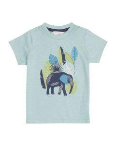 IBON Blaues Baby T-Shirt Elefant