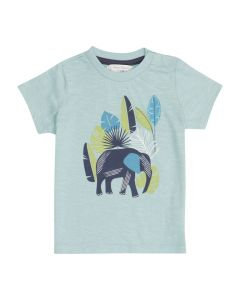 IBON Blue Children T-Shirt Elephant