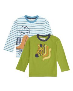 HANS Baby Long Sleeve Shirt both