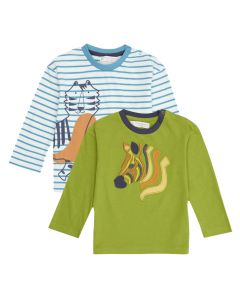HANS Childrens Long Sleeve Shirt both