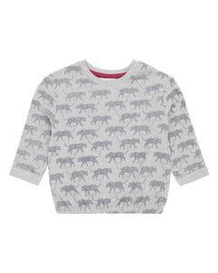 ELIRA Mädchen Sweatshirt Leopard grau