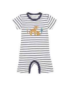 YOEKY Baby Striped Playsuit Tiger
