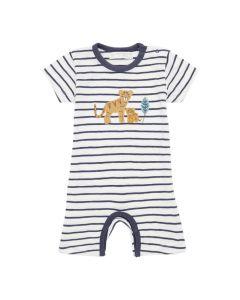 YOEKY Baby Spielanzug Ringel Tiger