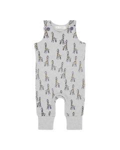 WILLI Baby Strampler Giraffe grau