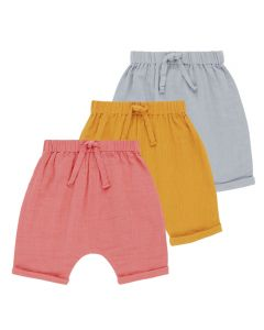 CHARLIE Baby Shorts Muslin All