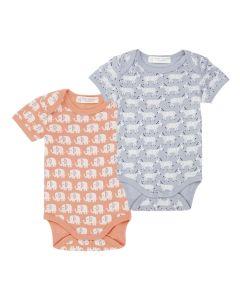 YVON RETRO Short Sleeve Baby Body Both