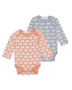 YVON RETRO Baby Body Long Sleeve Both