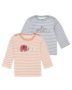 LUNA RETRO Baby Longe Sleeve Shirt Both
