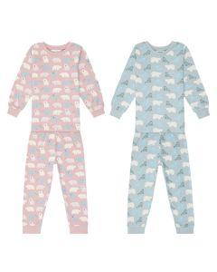 Kinder Schlafanzüge aus Fairtrade Baumwolle, Long John