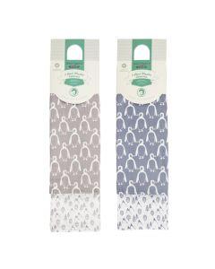 Mulltücher Doppelpack Pinguin, Bios