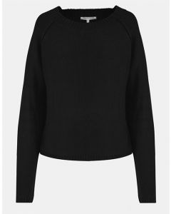 Rosmina_knitted sweater_black