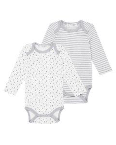 Yvon Baby Body White Gray Both