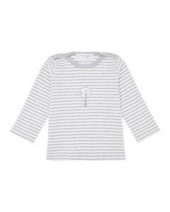 Luna Shirt grey stripes Baby