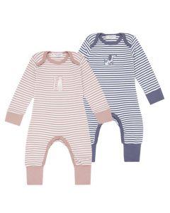 Wayan Romper Baby Stripes Both