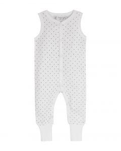 8200702-Mia Baby sleeveless Babygrow footed-Sense Organics-stars