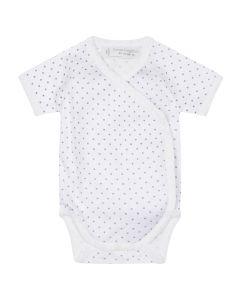 8200706-Ygon Baby Tiebody shortsleeves-stars-Sense Organics
