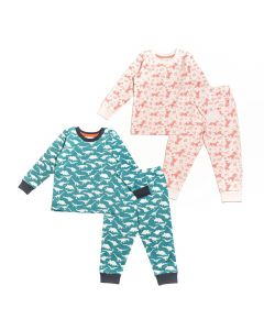 Long John-Pyjama-prints