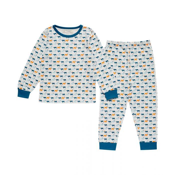 1623508-Sense-Organics-Children-Long-John-Pyjama-two-pieces-reindeer-print