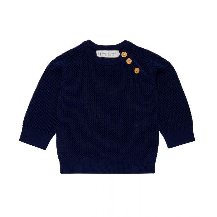 1711778-Sense-Organics-Victor-Baby-sweater-treuknit-blue