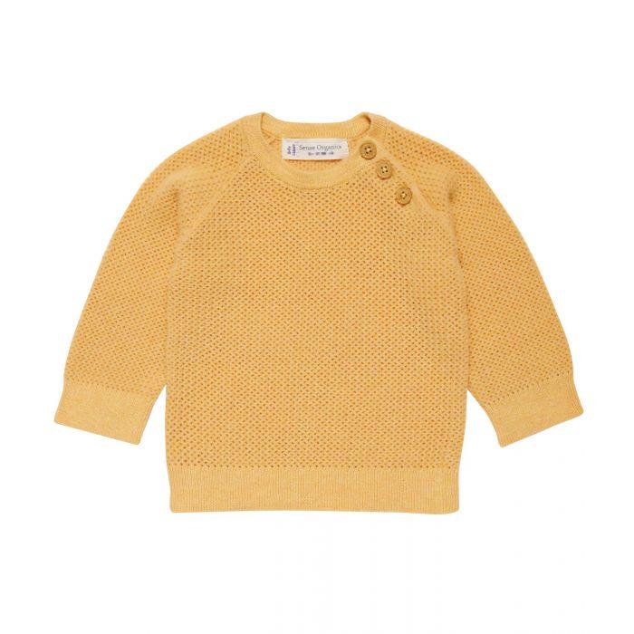 1711779-Sense-Organics-Victor-Baby-sweater-treuknit-yellow