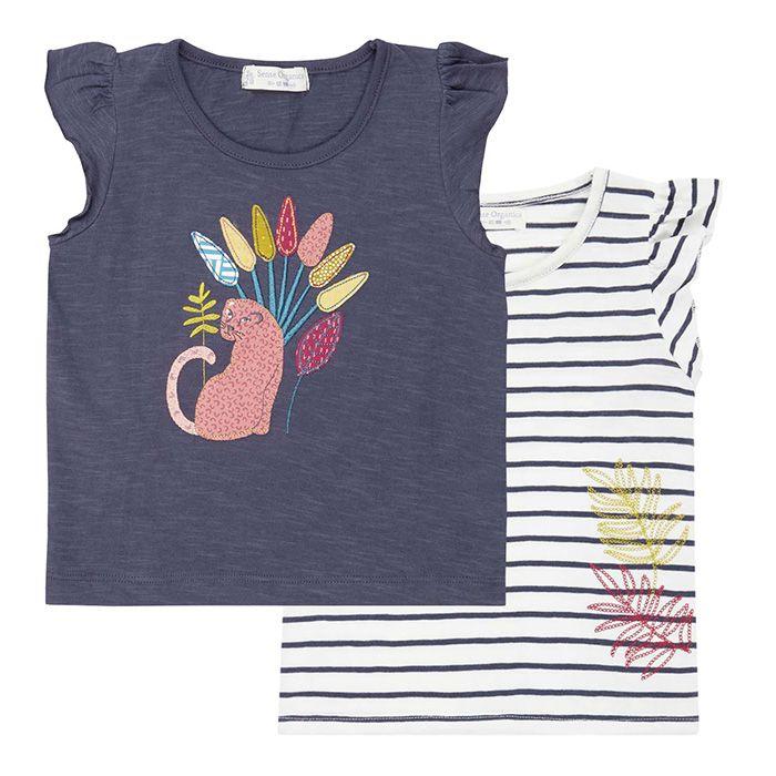 NANA Baby T-Shirt Flügelärmel Beide
