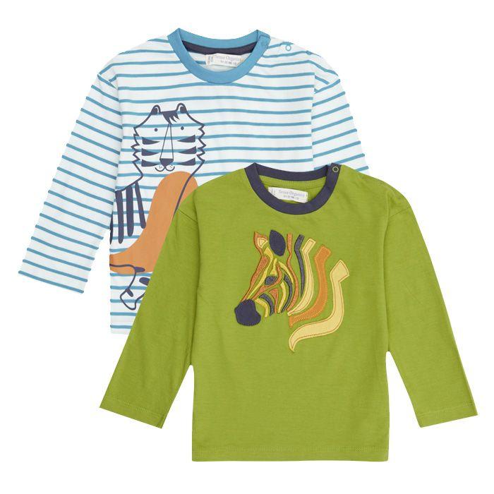 HANS Kinder Langarm-Shirt Beide