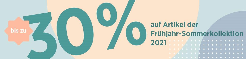 Frühjahr Sommer 2021 30% Sale