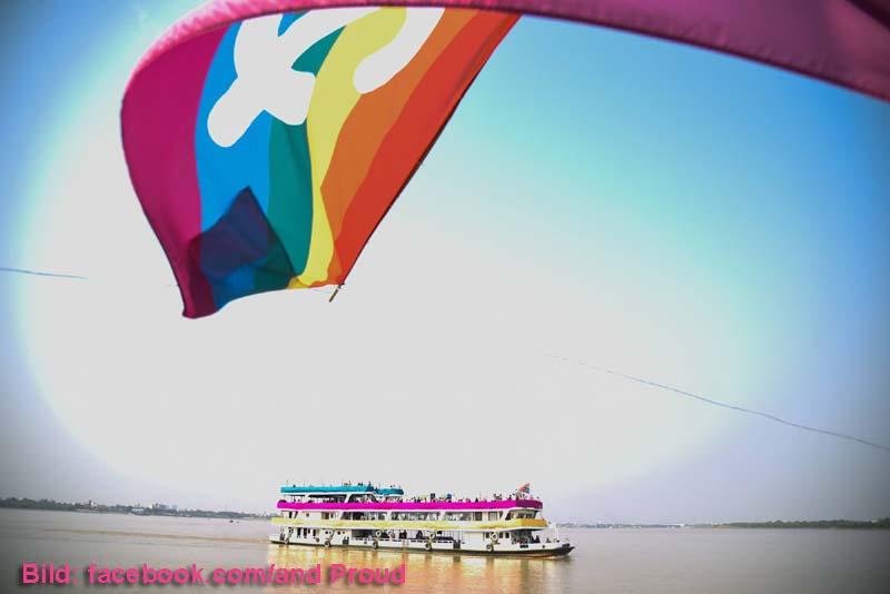 Yangon Boat Pride - facebook.com/and PROUD