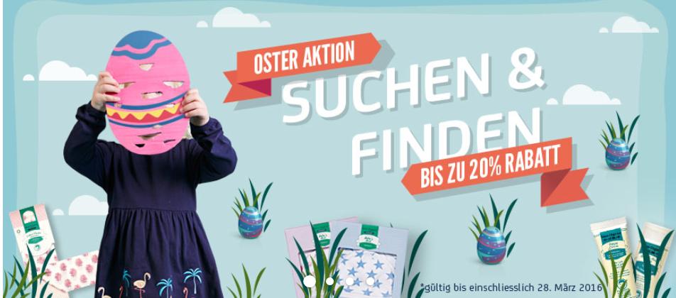 Sense Organics Blog ueber Rabattaktion zu Ostern