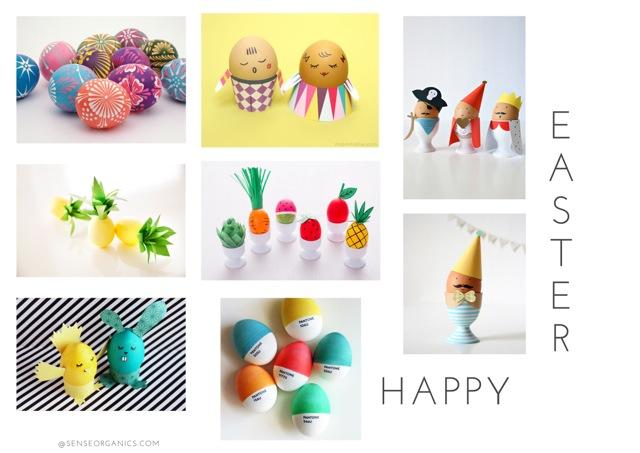 Sense Organics bloggt über Ostern mit Kindern, Tipps für DIY