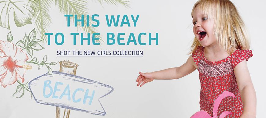 Sense Organics Spring Summer 2016 Girls Organic Clothing - head for the beach