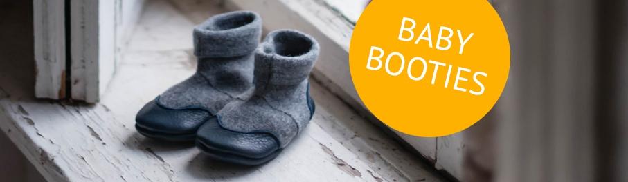 Sense Organics spring summer 2018 – ecological baby booties