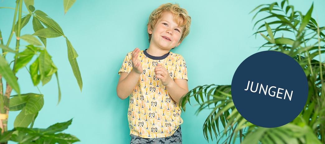 Sense Organics oekologische Bekleidung für Jungen Frühling und Sommer 2018