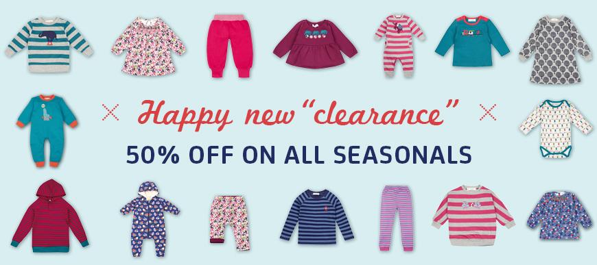 Sense Organics Winter clearance sale 2016